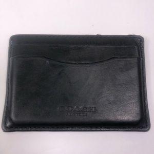 Coach Men's Card Holder Wallet